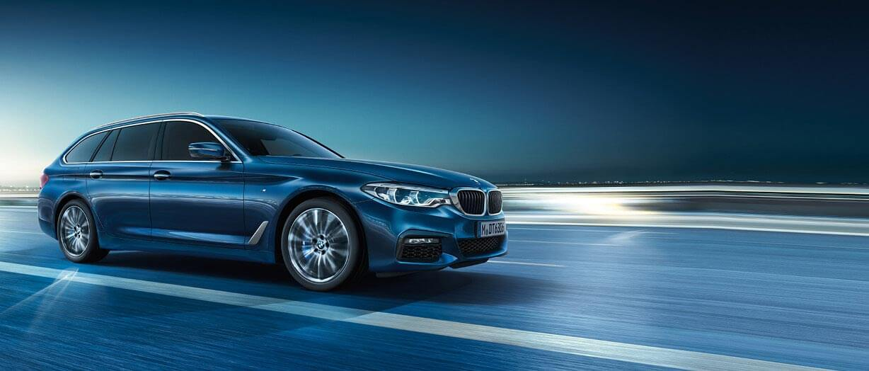 THE 5: DER BMW 520d TOURING