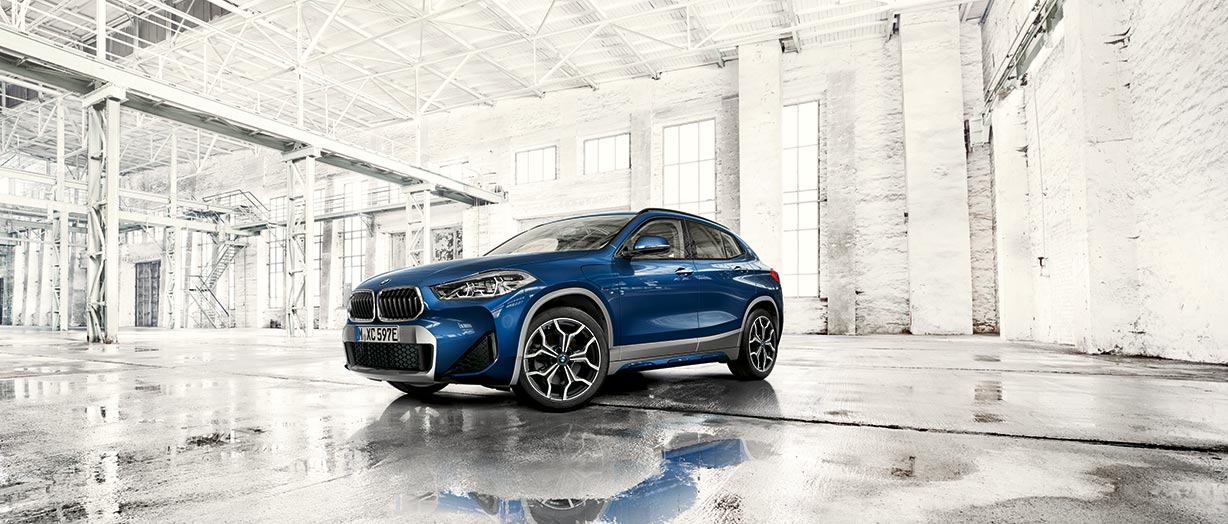 THE X2: DER BMW X2 xDrive25e PLUG-IN-HYBRID